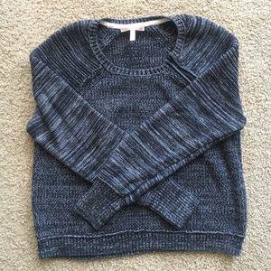 Victoria's Secret Small Marled Gray/Black Sweater